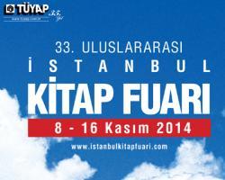 33.İstanbul Uluslararası Kitap Fuarı (8-16 Kasım 2014)