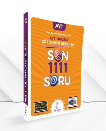 YKS SINAVINDAN ÖNCE ÇÖZÜLMESİ GEREKEN SON 950 SORU-TM