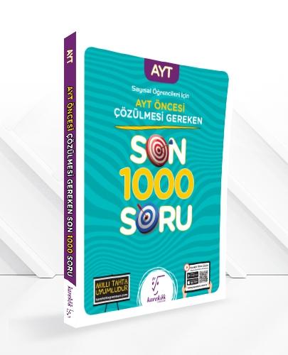 AYT SINAVINDAN ÖNCE ÇÖZÜLMESİ GEREKEN SON 1000 SORU-SAYISAL