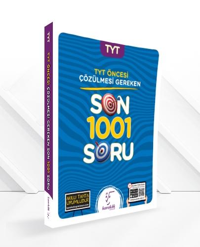YGS'den ÖNCE ÇÖZÜLMESİ GEREKEN SON 1001 SORU