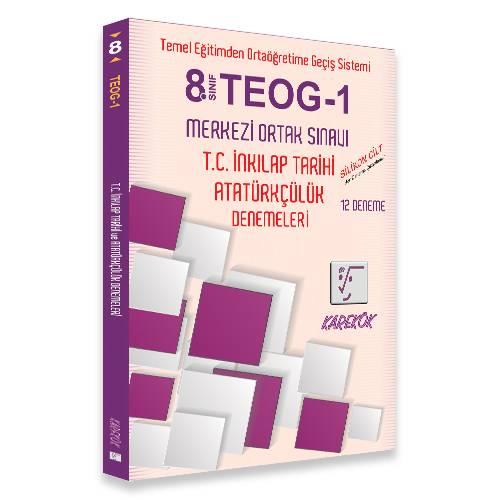 8.SINIF TEOG-1 MERKEZİ ORTAK SINAVI T.C. İNKILAP TARİHİ ve ATATÜRKÇÜLÜK DENEMELERİ