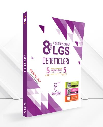 8.SINIF LGS DENEMELERİ (5 ADET)