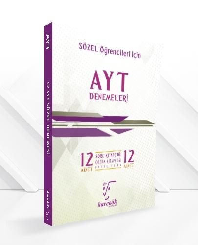 AYT 12'Lİ PAKET DENEME (SÖZEL)