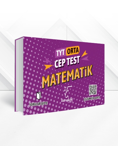 TYT MATEMATİK CEP TEST(ORTA)