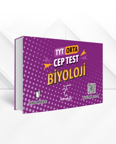 TYT BİYOLOJİ CEP TEST(ORTA)