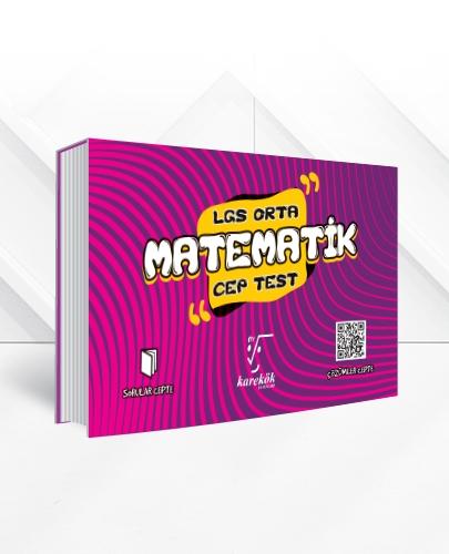 LGS MATEMATİK CEP TEST (ORTA)