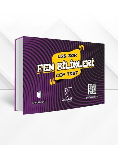 LGS FEN BİLİMLERİ CEP TEST (ZOR)