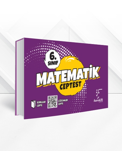 6.SINIF MATEMATİK CEPTEST