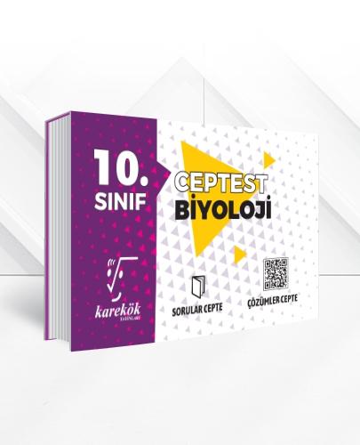 10.SINIF BİYOLOJİ CEPTEST