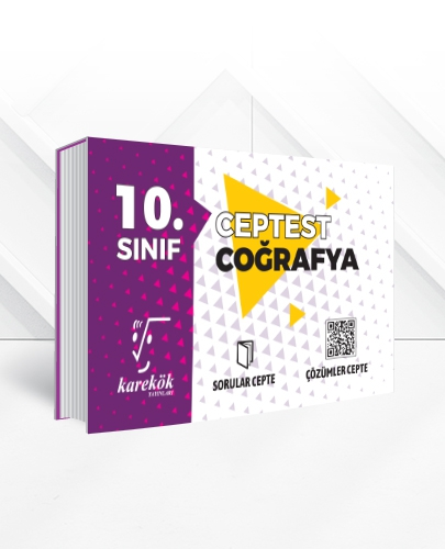 10.SINIF COĞRAFYA CEPTEST
